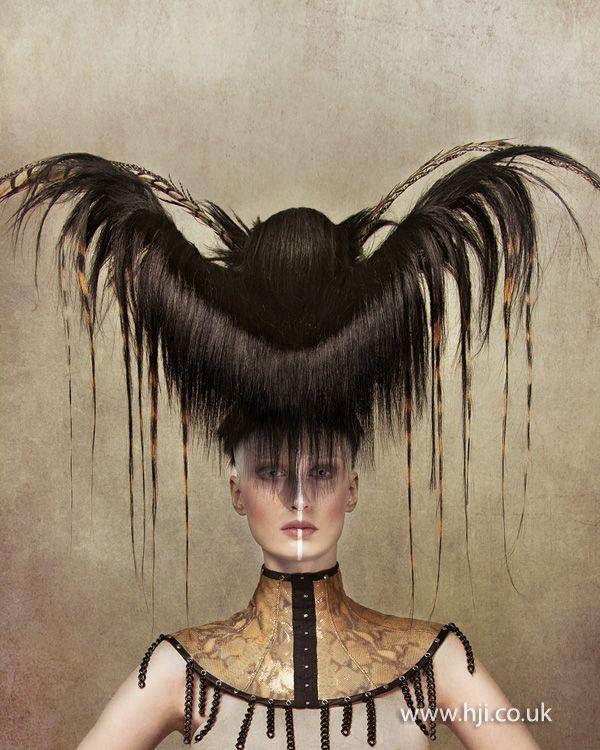Robert Masciave 2012 Avant Garde Hairdresser of the Year Finalist