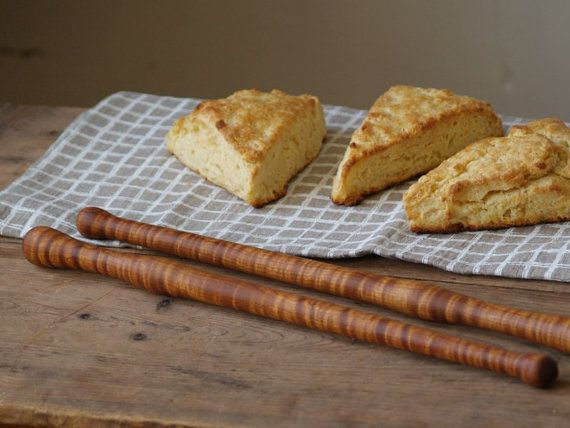 Keks-Stick Holz Rühren Stick Bäcker Löffel von CattailsWoodwork