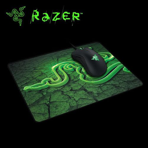 Professional 1 Pcs Razer Gaming Mouse Pad 250*210*2mm Locking Edge Mouse Mousepad for Game Player
