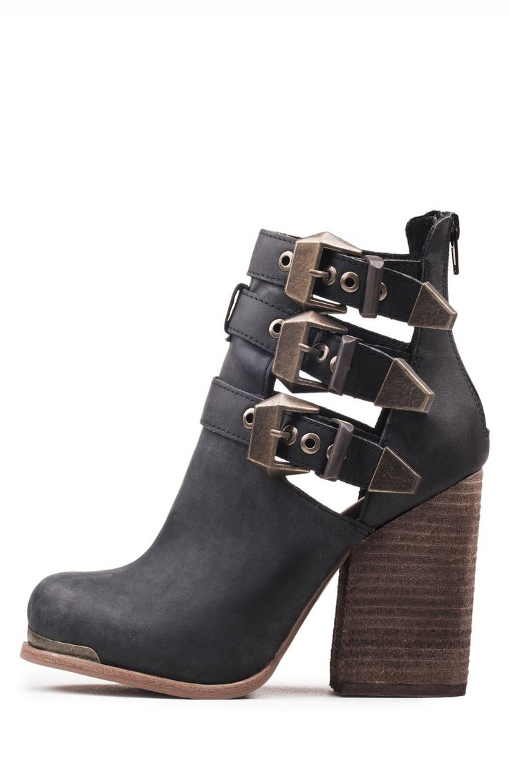 Jeffrey Campbell Shoes DEVOTED-MT Booties in Black Washed size 10