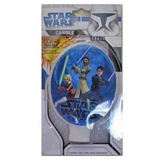 STAR WARS CLONE WARS FLAT CANDLE