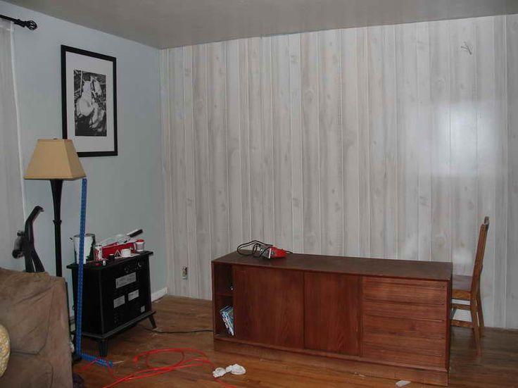 Remodel Wood Panel Walls