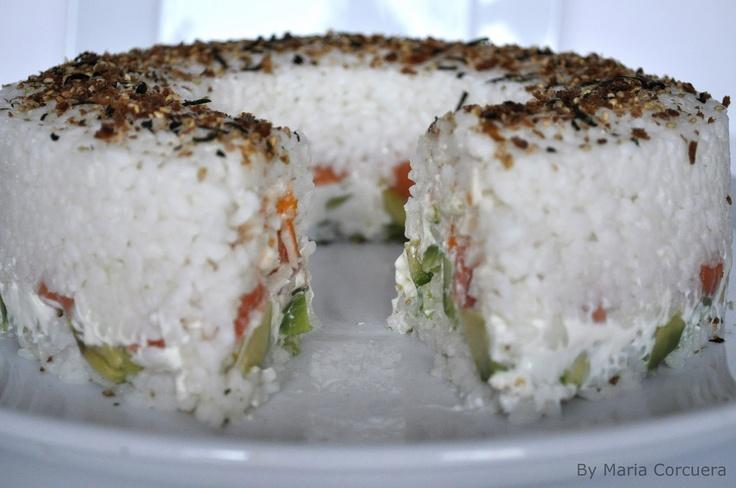Sushi Bundt Cake