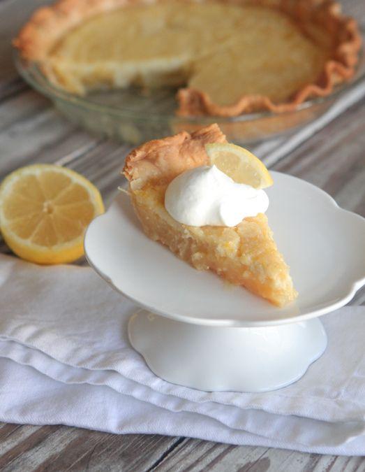 Sweet N' Creamy Lemon Pie, one of our favorite desserts! #BakeALittleExtra