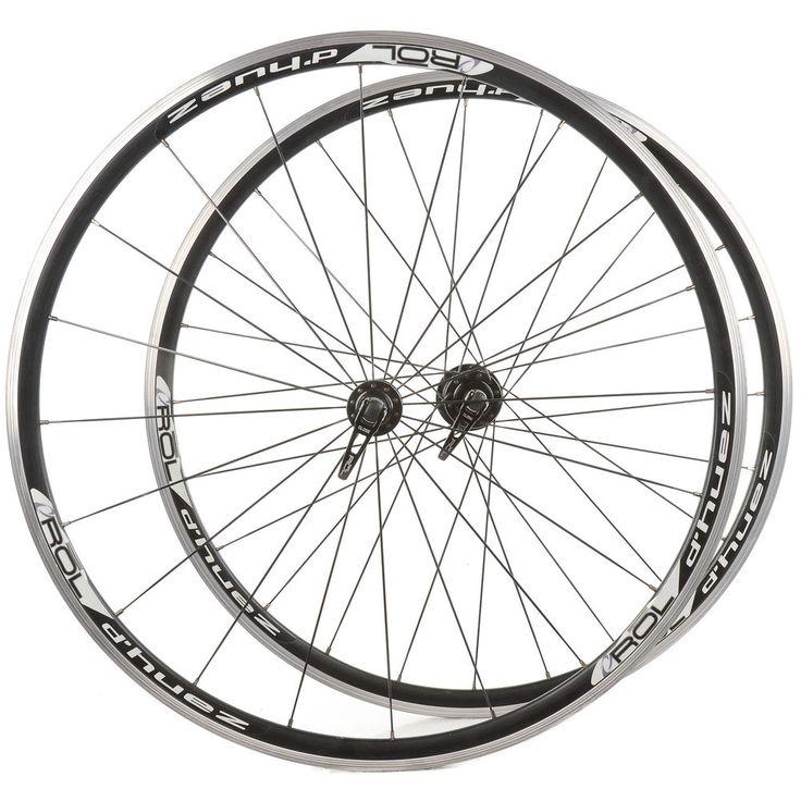 Rol D'Huez Road Bike Wheel Set 700c Clincher Tubular Freehub Type XX Speed #Rol