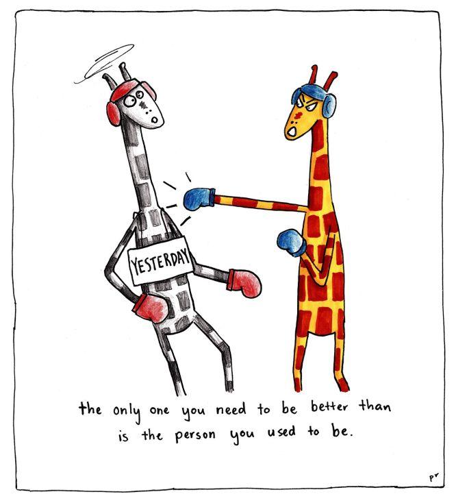 Penny Redshaw | Motivating Giraffe