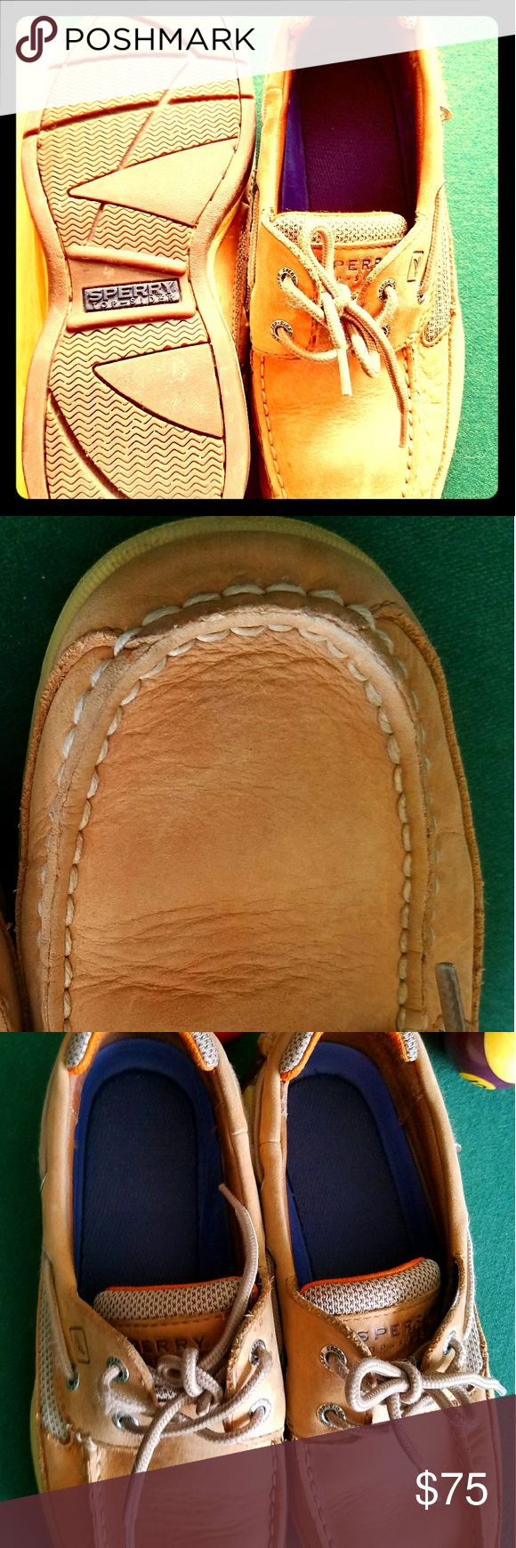 Sperry Top-Sider Men's size 8 Sperry Top-Sider shoes. Men's size 8. EUC.   EVEN the soles look nearly new. Sperry Shoes Loafers & Slip-Ons