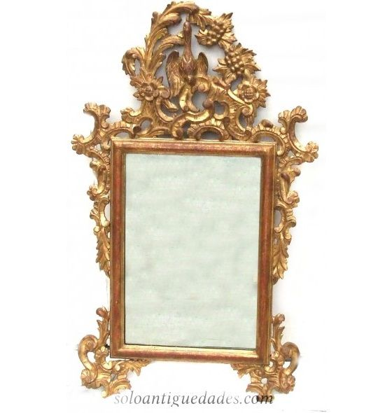 Majestuosa pareja de espejos de pared rectangulares for Espejos grandes