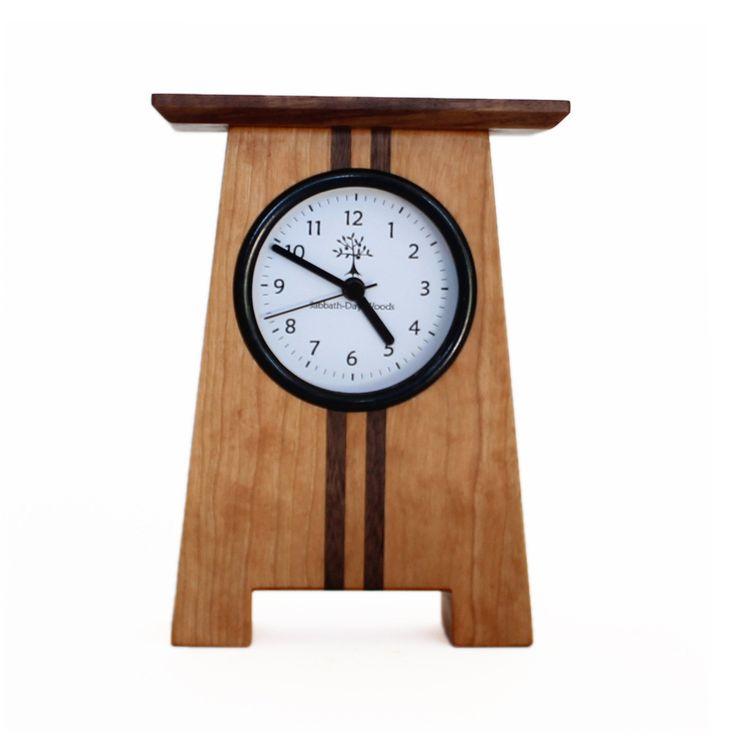 Asheville Craftsman Desk Clock