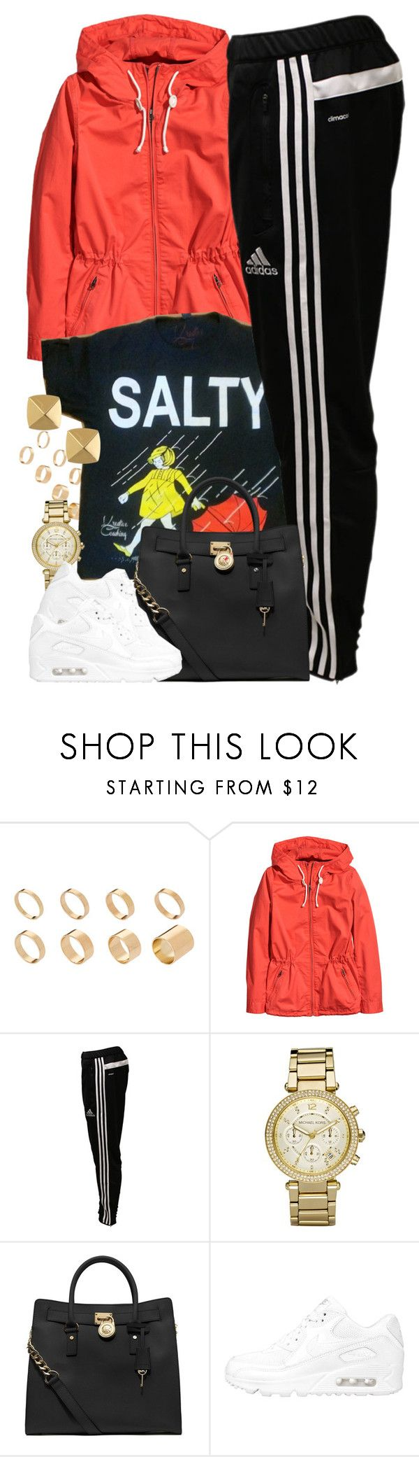 """""""Untitled #1479"""" by power-beauty ❤ liked on Polyvore featuring ASOS, H&M, adidas, Michael Kors, MICHAEL Michael Kors, NIKE and Vince Camuto"""