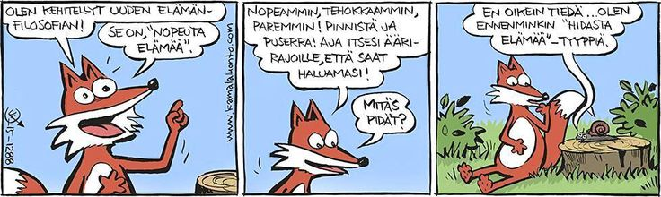 Faster, more effectively and better - great words and suit for me @Kamala luonto