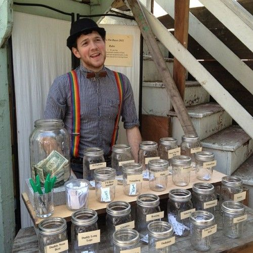 Kentucky Derby betting: instead of keeping up w/tickets...have jars w/picks then divide winnings among the names in the jar.
