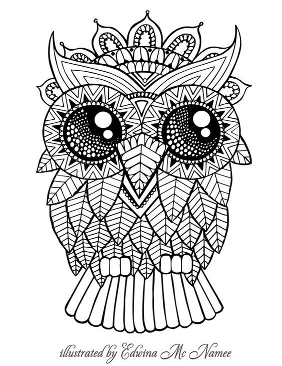 Pin by Ceciley Marlar on Swear Words Coloring Pages Pinterest - copy baby owl coloring pages for adults
