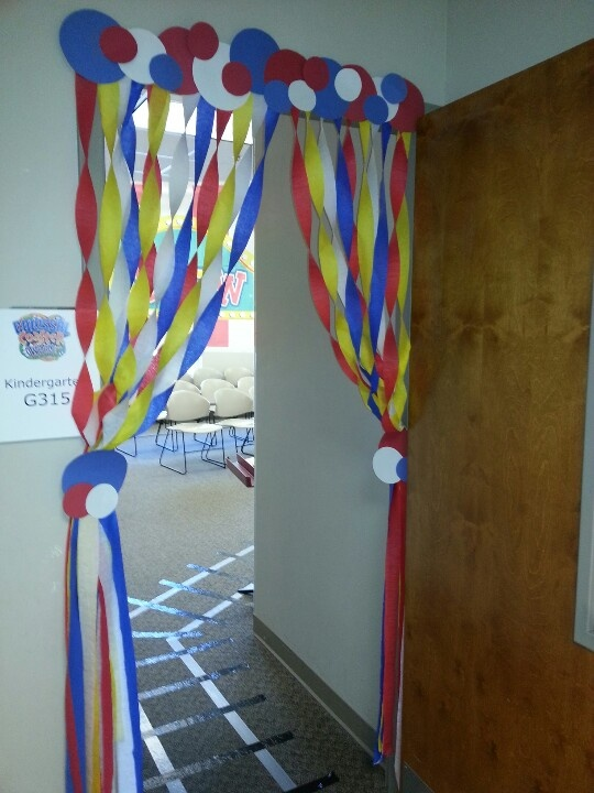 cute doorway décor for ....party,birthday,reunion.etc