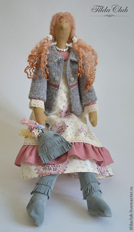 Купить Кукла интерьерная Тильда: Дженнифер - кукла Тильда, кукла интерьерная, кукла ручной работы