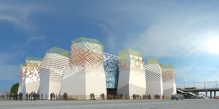 The Russian Federation Pavilion - Better City Where Children Are Happy - Picture gallery
