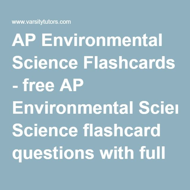 ap environmental science essay Welcome ap environmental science (apes) at steele canyon high school is a year long course offered in conjunction with honors biology within one year students.