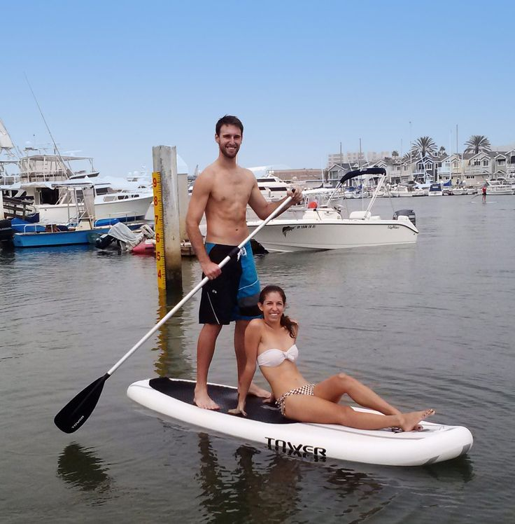 """Tower Adventurer 9'10"""" Inflatable SUP is great for beginners starting out on stand up paddle boards, or avid users needing a more convenient solution."""