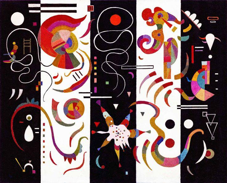 Striped (1934), Wassily Kandinsky