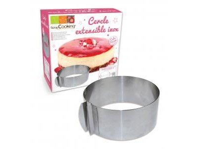 Cercle à pâtisserie extensible ScrapCooking®