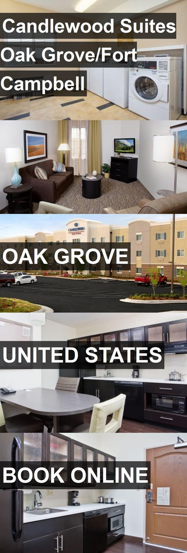 Hotel Candlewood Suites Oak Grove/Fort Campbell in Oak Grove, United States. For more information, photos, reviews and best prices please follow the link. #UnitedStates #OakGrove #travel #vacation #hotel