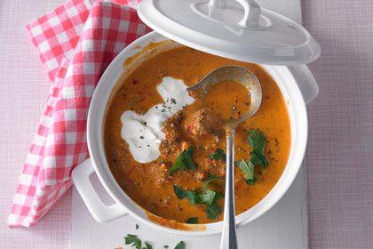 Ajvar - Suppe, ein tolles Rezept aus der Kategorie Eintopf. Bewertungen: 137. Durchschnitt: Ø 4,4.
