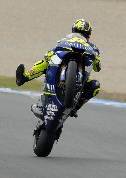 Valentino Rossi: The Doctor - expert on two wheels