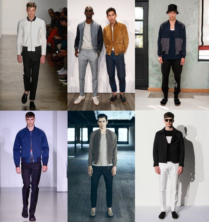 Bomber jackets are one of the hottest men's style trends for spring.