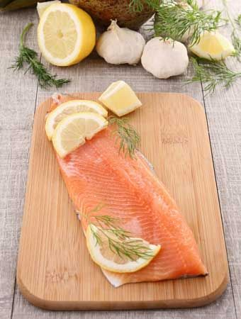 Trout and other fish are high in omega-3 fatty acids, consumption of which can ward of age-related macular degeneration and other eye problems