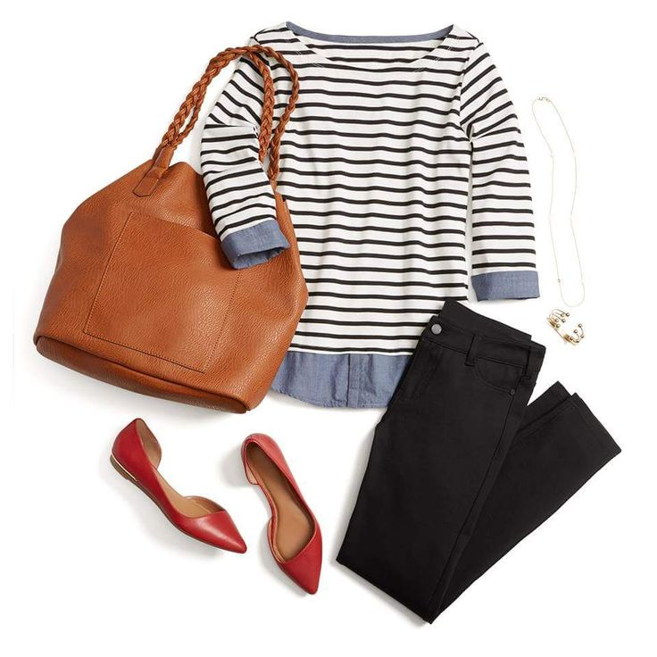 This outfit is very me! I have a similar bag and pants from past Fixes. Now I just need the shirt... :)