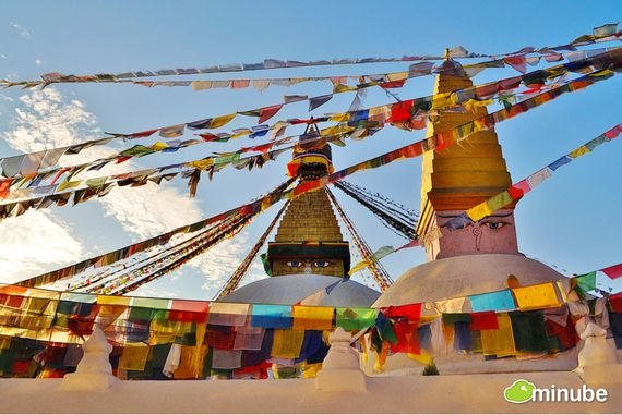 21) Kathmandu, Nepal: Kathmandu is, for many, the gateway to the majestic Himalayas. With its mixture of sadhus, saffron-robed monks, and iconic prayer flags, it' also one of the most colorful cities on Earth. (Photo by Nic Dalla-Valle)