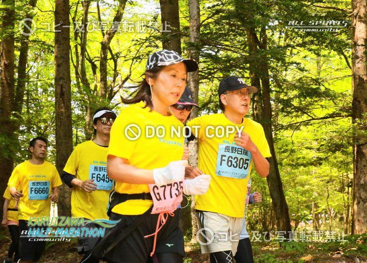 ナンバーカード(ゼッケン)番号:6305 / 軽井沢ハーフマラソン2015 - オールスポーツコミュニティ