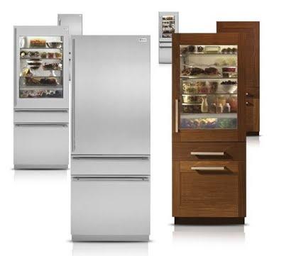 Love Glass Front Refrigerators