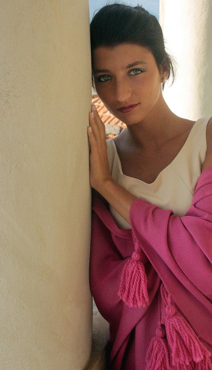 pink wool shawl silk #shawl #marinafinzi #shop.marinafinzi.com