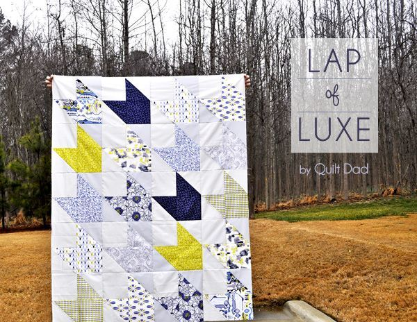 Fat Quarter Gang Tutorial - Lap of Luxe by Quilt Dad