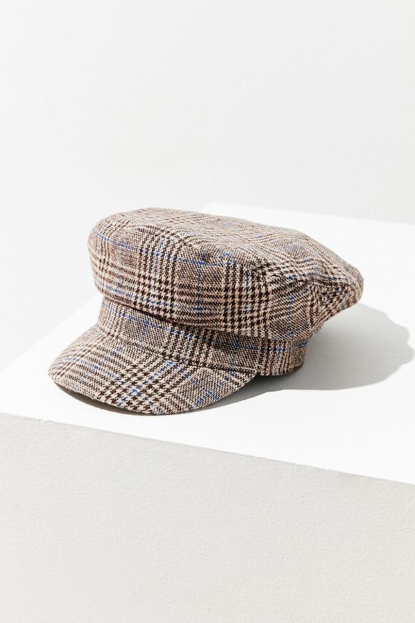 bf1f3a448d8 Slide View  2  Plaid Baker Boy Hat