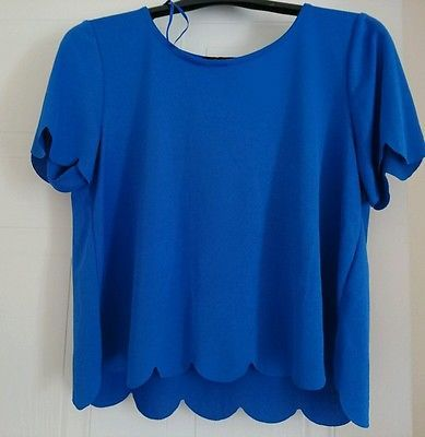 Scallop tshirt. Size 10. BRAND NEW! RRP£11 low start price