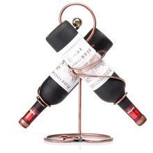 Новый 2018 Европейский Античный Железа Держатель Бутылки Вина, мода Главная/Бар Декоративные Металлические Стеллажи 2 Бутылок, горячее Надувательство Бесплатная Доставка(China (Mainland))