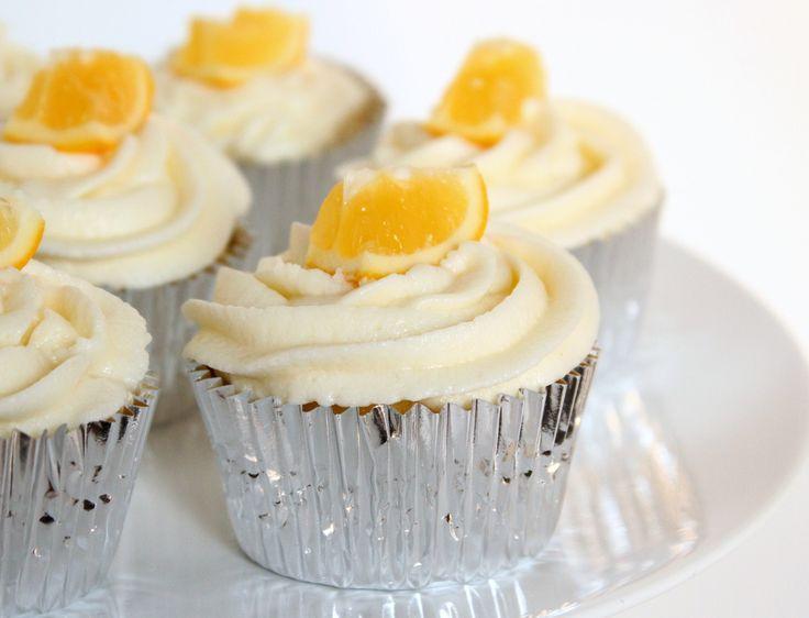 Limoncello & Meyer Lemon Cupcakes - Tiny Nancy, need I say anything?