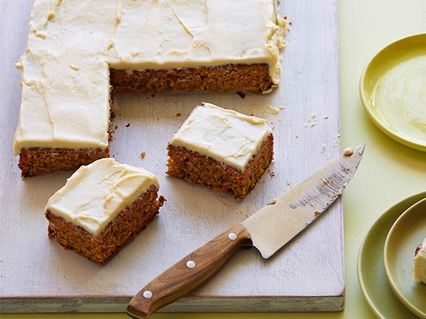 Lightened-up Carrot Cake #HealthyEveryDay: Carrot Cakes, Food Network, Desserts Recipes, Desserts Ideas, Carrots Cakes Recipes, Carrot Cake Recipes, Cooking, Healthy Dessert Recipes, Healthy Desserts