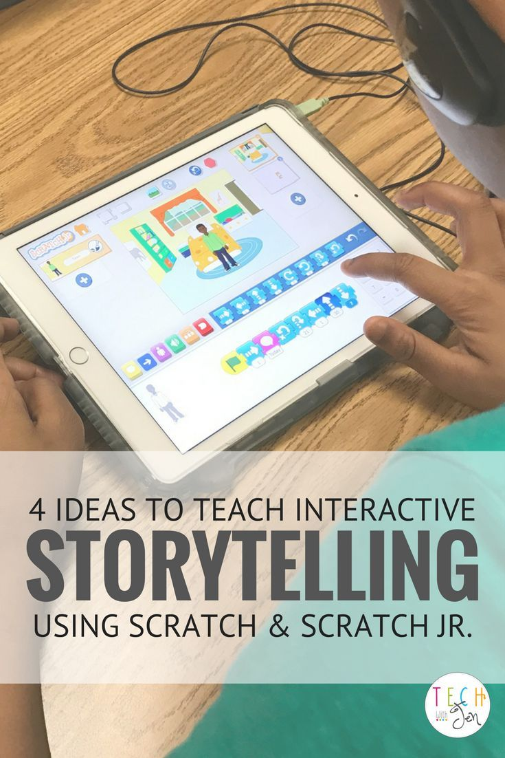 Combine interactive storytelling and coding to teach students critical thinking, problem-solving, and computation while still teaching literacy skills. This blog post shares four ideas to teach interactive storytelling using Scratch and Scratch Jr. Click