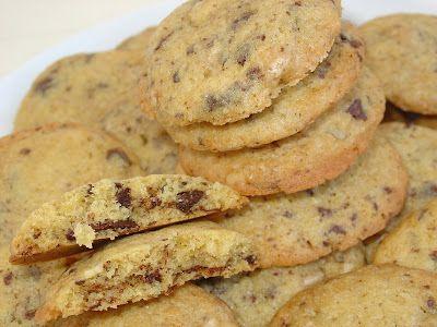 Nut and Chocolate Cookies - Galletas de nueces y chocolate - Ma Petite Boulangerie