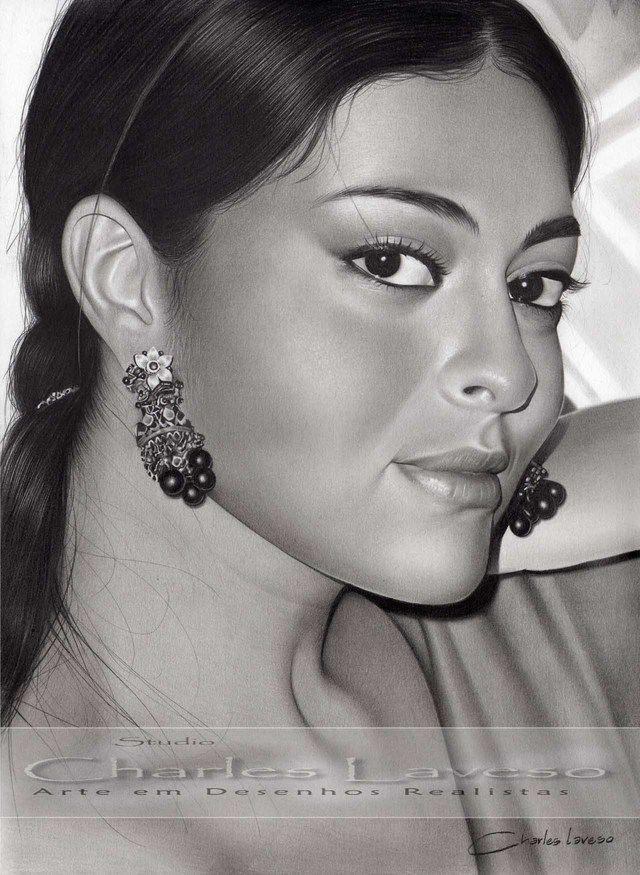 Desenho Realista 'Maia' Juliana Paes