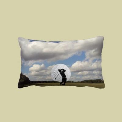 Golf World Throw PillowSports, Golf, Throw Pillows, Paper Towels