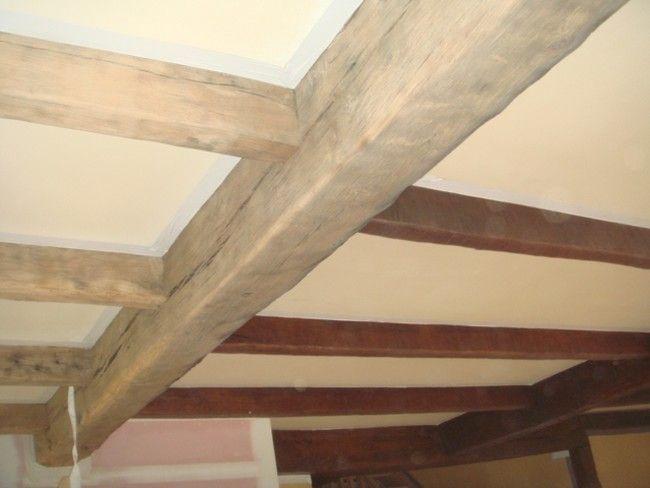 Meer dan 1000 idee n over balken plafonds op pinterest houten plafondbalken houten balken en - Houten balkenplafond ...
