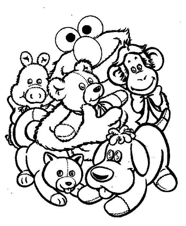 Image Detail For Elmo Coloring Pages Halloween