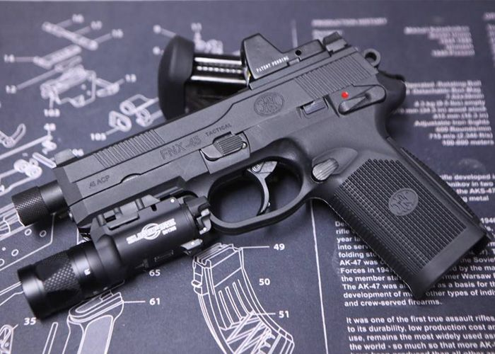 Impact Force FNX-45 Tactical Pistol Custom Find our speedloader now!  www.raeind.com  or  http://www.amazon.com/shops/raeind