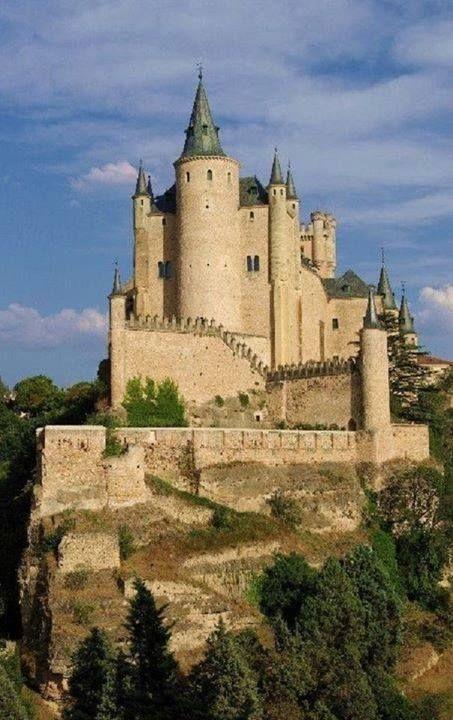Alcazar of Segovia Spain