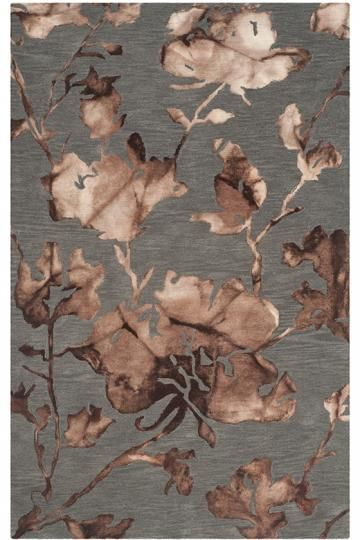 Camilla Area Rug - Transitional Rugs - Floral Rugs - Hand-tufted Rugs - Wool…
