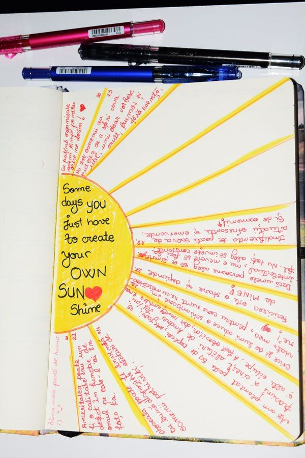 Create your own sunshine Martie